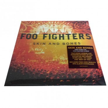Foo Fighters, Skin And Bones, Brand New 2x Vinyl LP, RCA 88697 98328-1 2011 USA