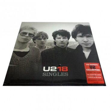 U2, U218 Singles, Brand New 2x Vinyl LP, Island 0602517135505 UK 2006