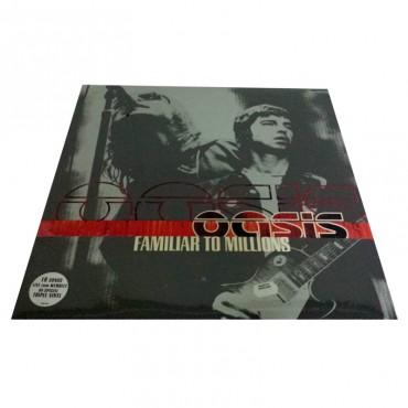 Oasis, Familiar To Millions, Brand New 3 Vinyl LP, RKIDLP 005, 2000 UK