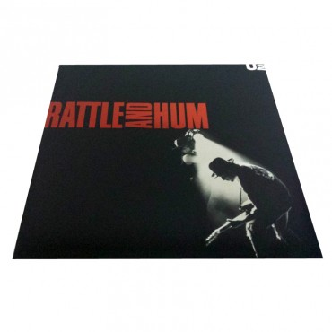 U2, Rattle And Hum, 2x Vinyl LP, Island 842 299-1 1988 Europe