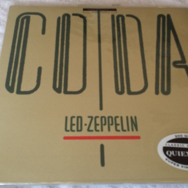 Led Zeppelin, Coda, Brand New Vinyl LP, Swan Song Classic Records, 2001, 90051-1, QUIEX S-VP 200 gram