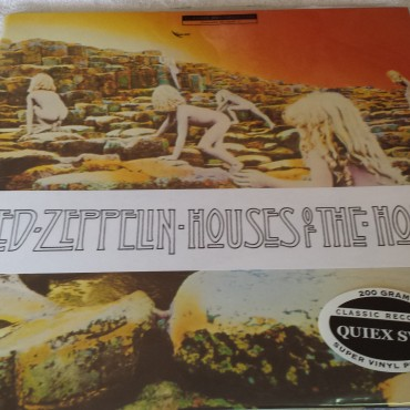 Led Zeppelin, Houses Of The Holy, Brand New Vinyl LP, Atlantic Classic Records, SD 7255, 2007, QUIEX S-VP 200 gram