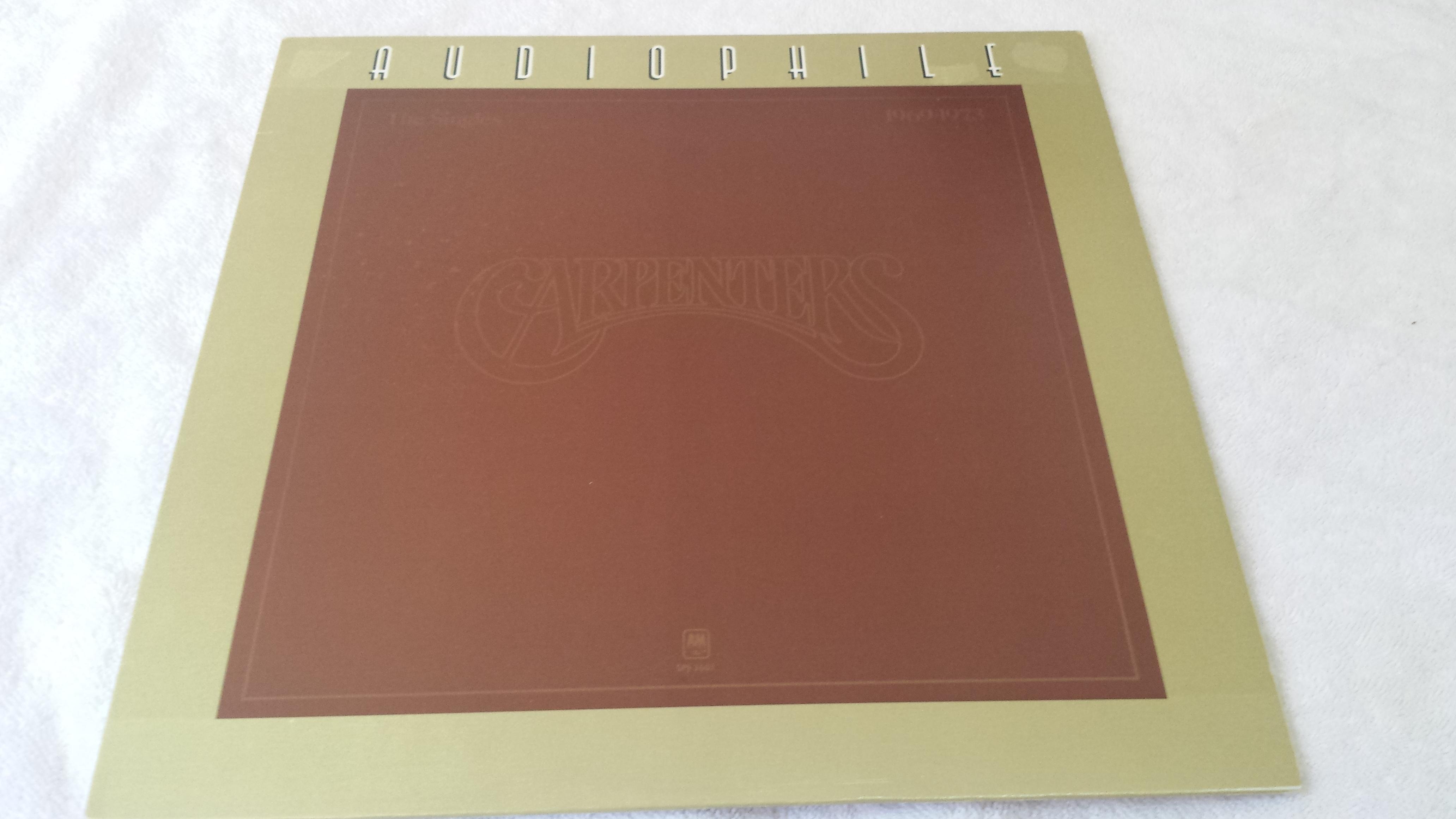Carpenters The Singles 1969 1973 Vinyl Lp Audiophile