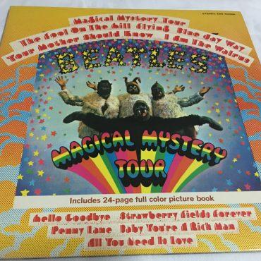 Beatles, Magical Mystery Tour, Japan Press Vinyl LP, Apple Records – EAS-80569, 1976, no OBI, Gatefold