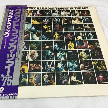 Grand Funk Railroad, Caught In The Act, Japan Press 2 x Vinyl LP, Capitol Records – ECS-67049/50, 1975, Gatefold, with OBI