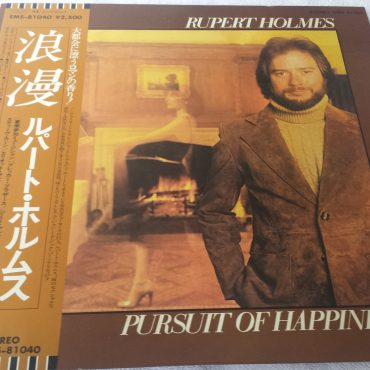 Rupert Holmes, Pursuit Of Happiness, Japan Press Vinyl LP, Private Stock – EMS-81040, 1978, with OBI*
