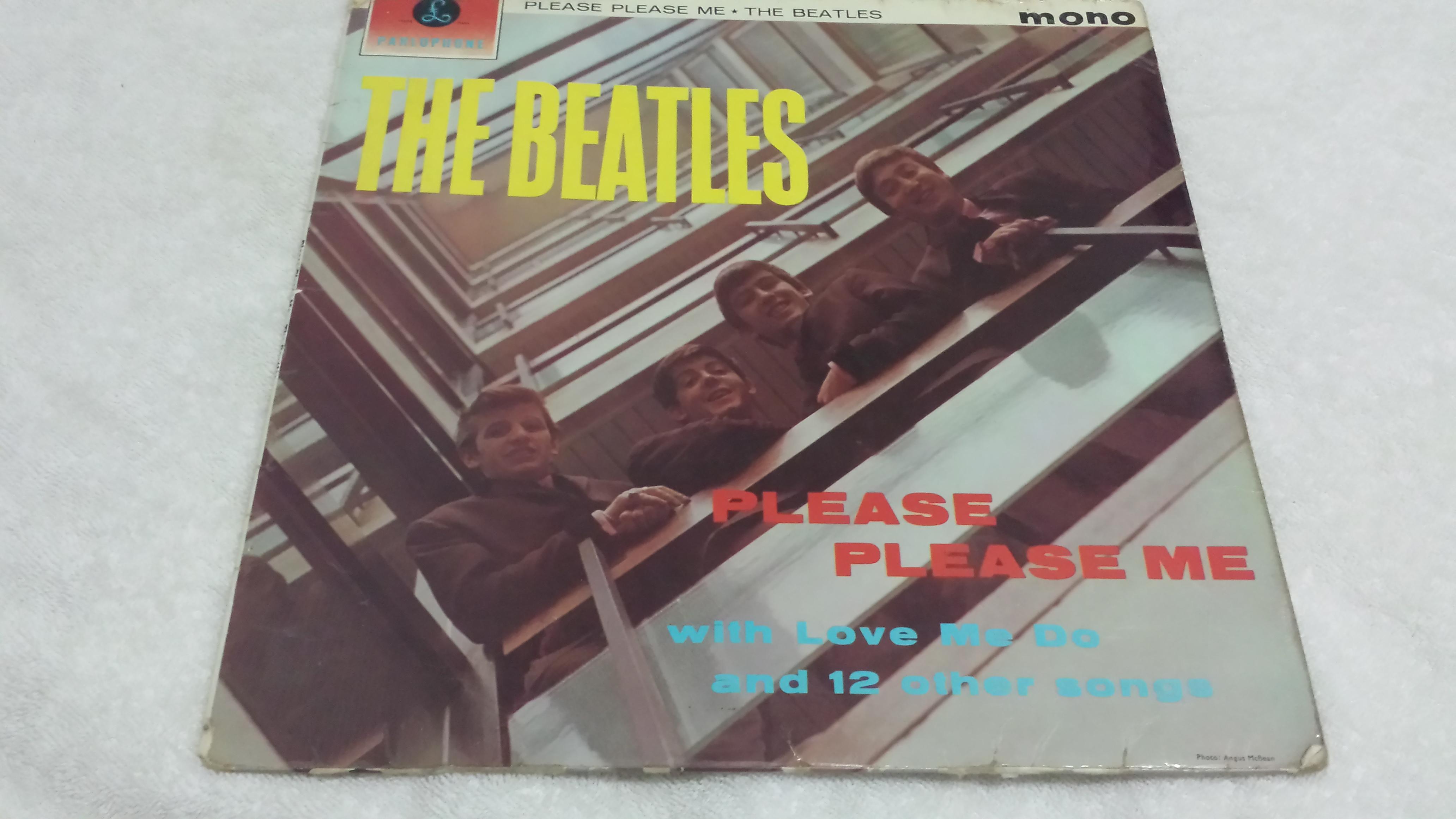 The Beatles, Please Please Me, Mono Vinyl LP, Parlophone – PMC 1202, 1963  UK, Rare* - slowrockingbro