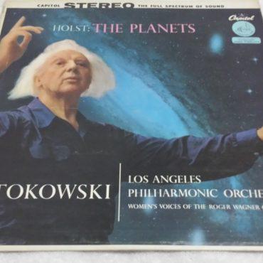 Leopold Stokowski, Holst – The Planets, Vinyl LP, Capitol 1958 USA*