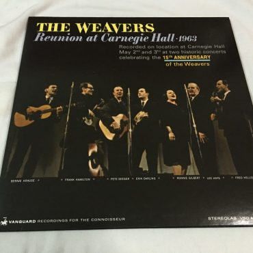 Weavers Reunion At Carnegie Hall 1963