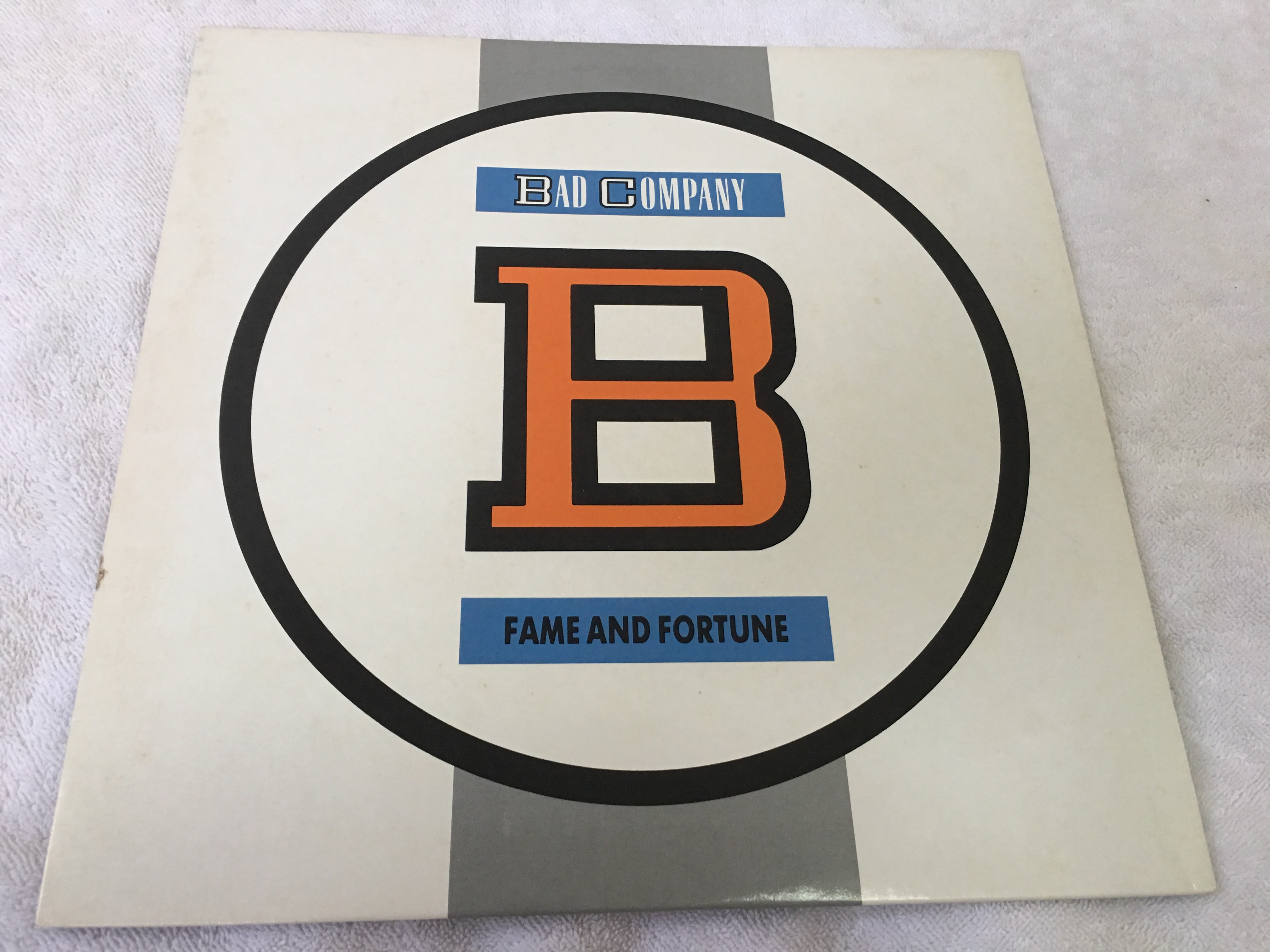 Bad Company Fame And Fortune Japan Press Vinyl Lp