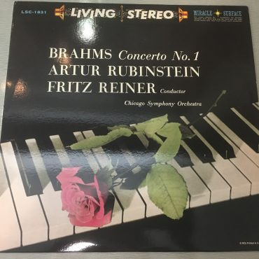 Brahms, Artur Rubinstein, Fritz Reiner, Chicago Symphony Orchestra ‎– Concerto No. 1 In D Minor, Op. 15, Vinyl LP, Classic Records/RCA ‎– LSC 1831, USA