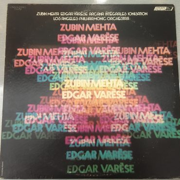 Edgard Varèse ‎– Arcana / Intégrales / Ionisation, Vinyl LP, London Records ‎– CS6752, 1972, USA