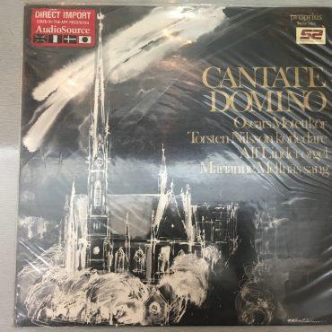 Torsten Nilsson, Marianne Mellnäs, Alf Linder, Oskars Motettkör – Cantate Domino, Vinyl LP, Proprius – Prop 7862, 1980, Sweden