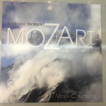 Marianne Thorsen, Wolfgang Amadeus Mozart – Violin Concertos Nos. 3 & No. 4, Vinyl LP, 2L – 2L-038-LP, Norway