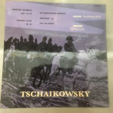 Tchaikovsky, The Concertgebouw Orchestra (Amsterdam) Conducted By Paul van Kempen ‎– Ouverture Solennelle 1812 Op. 49 / Capriccio Italien Op. 45, 10″ Vinyl LP, Philips ‎– S 06078 R, Holland