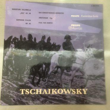 Tchaikovsky, The Concertgebouw Orchestra (Amsterdam) Conducted By Paul van Kempen – Ouverture Solennelle 1812 Op. 49 / Capriccio Italien Op. 45, 10″ Vinyl LP, Philips – S 06078 R, Holland