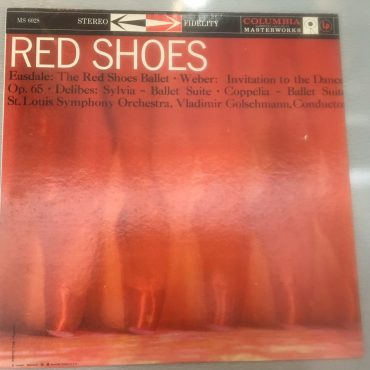 St. Louis Symphony Orchestra, Vladimir Golschmann ‎– Red Shoes, Vinyl LP,  Columbia Masterworks ‎– MS 6028, USA