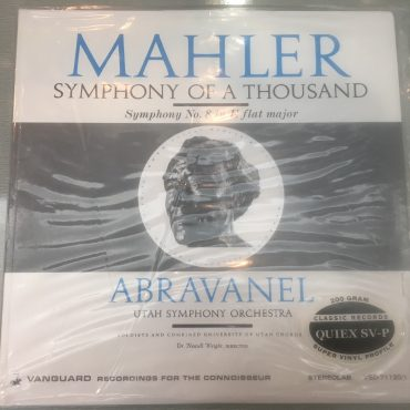 "Gustav Mahler, Maurice de Abravanel, Utah Symphony Orchestra, University of Utah Chorus – Mahler: Symphony No. 8 in E flat, ""Symphony Of A Thousand."", Brand New 2 x Vinyl LP,..."