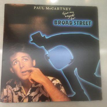 Paul McCartney – Give My Regards To Broad Street, Vinyl LP,  Columbia – SC 39613, 1984, USA