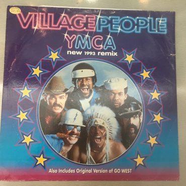 Village People – Y.M.C.A. (New 1993 Remix), 12″ Single Vinyl, Arista – 74321 177181, 1993, UK