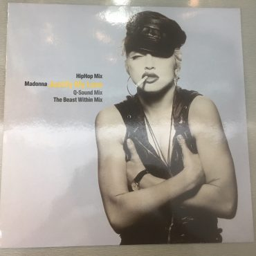 Madonna ‎– Justify My Love, 12″ Single Vinyl, Sire ‎– 7599-21851-0, 1990, Germany