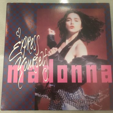Madonna ‎– Express Yourself / The Look Of Love, 12″ Single Vinyl, Sire ‎– 0-21225, 1989, USA