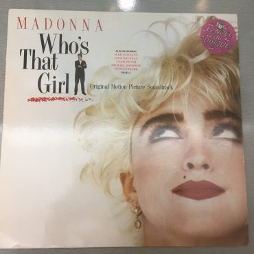 Madonna – Who's That Girl (Original Motion Picture Soundtrack), Vinyl LP, Sire – 925 611-1, 1987, Germany