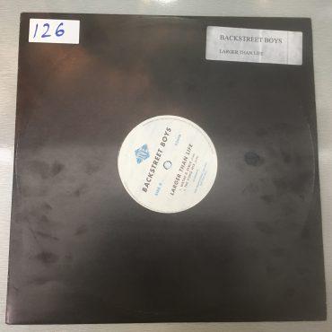 Backstreet Boys – Larger Than Life, 12″ Single Vinyl, Promo Copy, Jive – 0550560.P2, 2001, USA