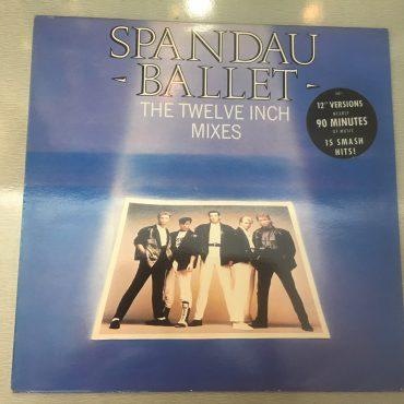 Spandau Ballet – The Twelve Inch Mixes, 2x Vinyl LP, Chrysalis – SBD 1, 1986, UK