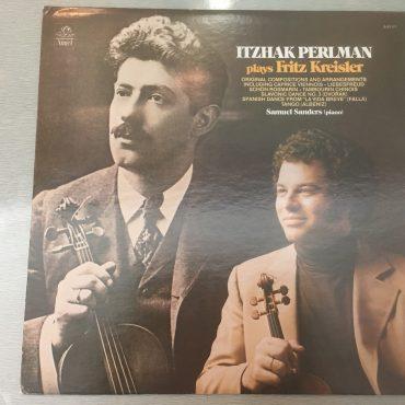 Itzhak Perlman – Itzhak Perlman Plays Fritz Kreisler, Vinyl LP, Angel Records – S-37171, 1976, USA