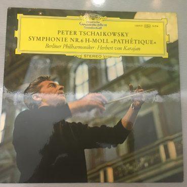 Peter Tschaikowksy – Berliner Philharmoniker · Herbert von Karajan – Symphonie Nr.6 h-moll »Pathétique«, Vinyl LP, Deutsche Grammophon – 138 921 SLPM, 1969, Germany