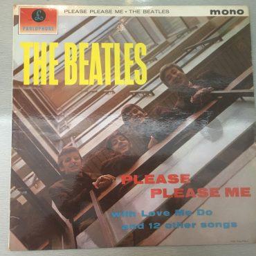 Beatles – Please Please Me, Mono Vinyl LP, Rare 3rd Press, Yellow Parlophone – PMC 1202, 1963, UK