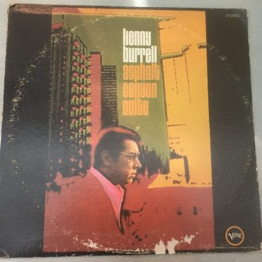 Kenny Burrell ‎– Asphalt Canyon Suite, Vinyl LP, Verve Records ‎– V6-8773, 1969, USA