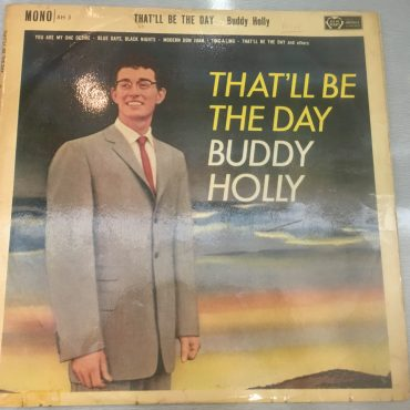 Buddy Holly ‎– That'll Be The Day, Mono Vinyl LP, Ace Of Hearts ‎– AH 3, 1961, UK
