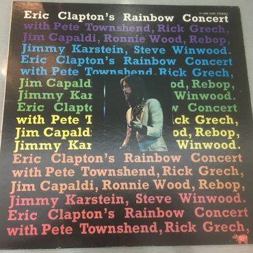 Eric Clapton – Eric Clapton's Rainbow Concert, Japan Press Vinyl LP, RSO – MW 2080, no OBI, 1973