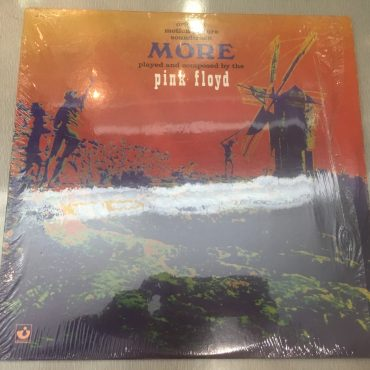 "Pink Floyd ‎– Original Motion Picture Soundtrack From The Film ""More"", Vinyl LP, Capitol Records ‎– SW-11198, 1982, USA"