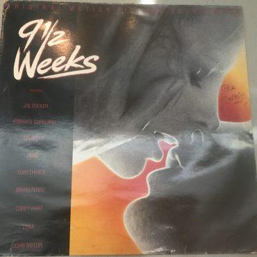 9 1/2 Weeks – Original Motion Picture Soundtrack, Vinyl LP, Capitol Records – EST 2003, 1986, UK