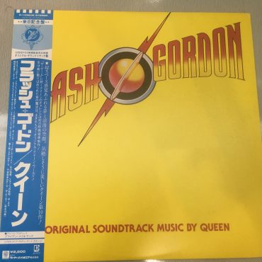 Queen ‎– Flash Gordon (Original Soundtrack Music), Japan Press Vinyl LP, Elektra ‎– P-10960E, 1980, with OBI