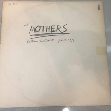 Mothers – Fillmore East – June 1971, Vinyl LP, Reprise Records – MS 2042, 1975, Australia