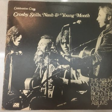 Crosby, Stills, Nash & Young ‎– Crosby, Stills, Nash & Young Month Celebration Copy, Vinyl LP, Atlantic ‎– PR 165, 1971,  Australia