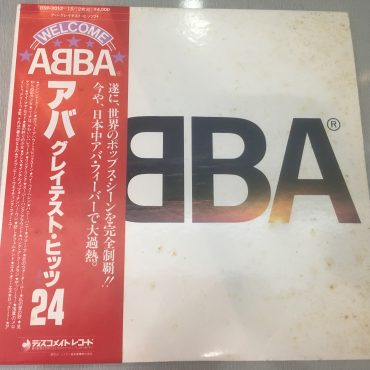 ABBA ‎– ABBA's Greatest Hits 24, Japan Press 2x Vinyl LP, Discomate ‎– DSP-3012~13, 1977, with OBI