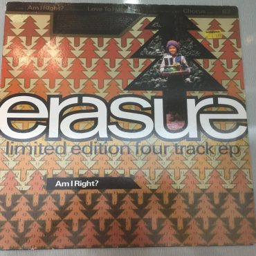 Erasure ‎– Am I Right?, 12′ Single Vinyl, Mute ‎– L12 Mute 134, 1992, UK