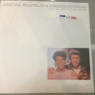 Aretha Franklin & George Michael ‎– I Knew You Were Waiting (For Me), 12″ Single Vinyl, Epic ‎– DUET T2, 1987, UK