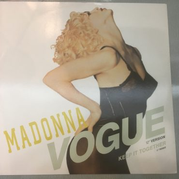 Madonna ‎– Vogue, 12″ Single Vinyl, Sire ‎– W9851T, 1990, UK