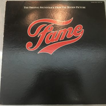 Various ‎– Fame (The Original Soundtrack From The Motion Picture), Japan Press Vinyl LP, RSO ‎– MWF 1088, 1980, no OBI