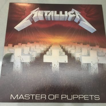 Metallica ‎– Master Of Puppets, Vinyl LP, Elektra ‎– 9 60439-1, 1986, USA
