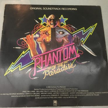 Phantom Of The Paradise – Original Soundtrack Recording, Vinyl LP, A&M Records ‎– SP-3653, 1974, USA