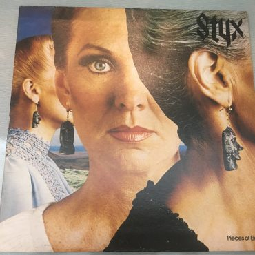 Styx ‎– Pieces Of Eight, Vinyl LP, A&M Records ‎– SP-4724, 1978, South East Asia