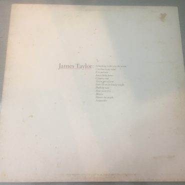 James Taylor ‎– James Taylor's Greatest Hits, Vinyl LP , Warner Bros. Records ‎– K 56309, 1976, UK