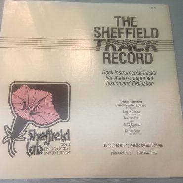 Robbie Buchanan, James Newton Howard, Lenny Castro, Nathan East, Mike Landau, Carlos Vega – The Sheffield Track Record, Vinyl LP, Sheffield Lab – LAB 20, 1982, USA